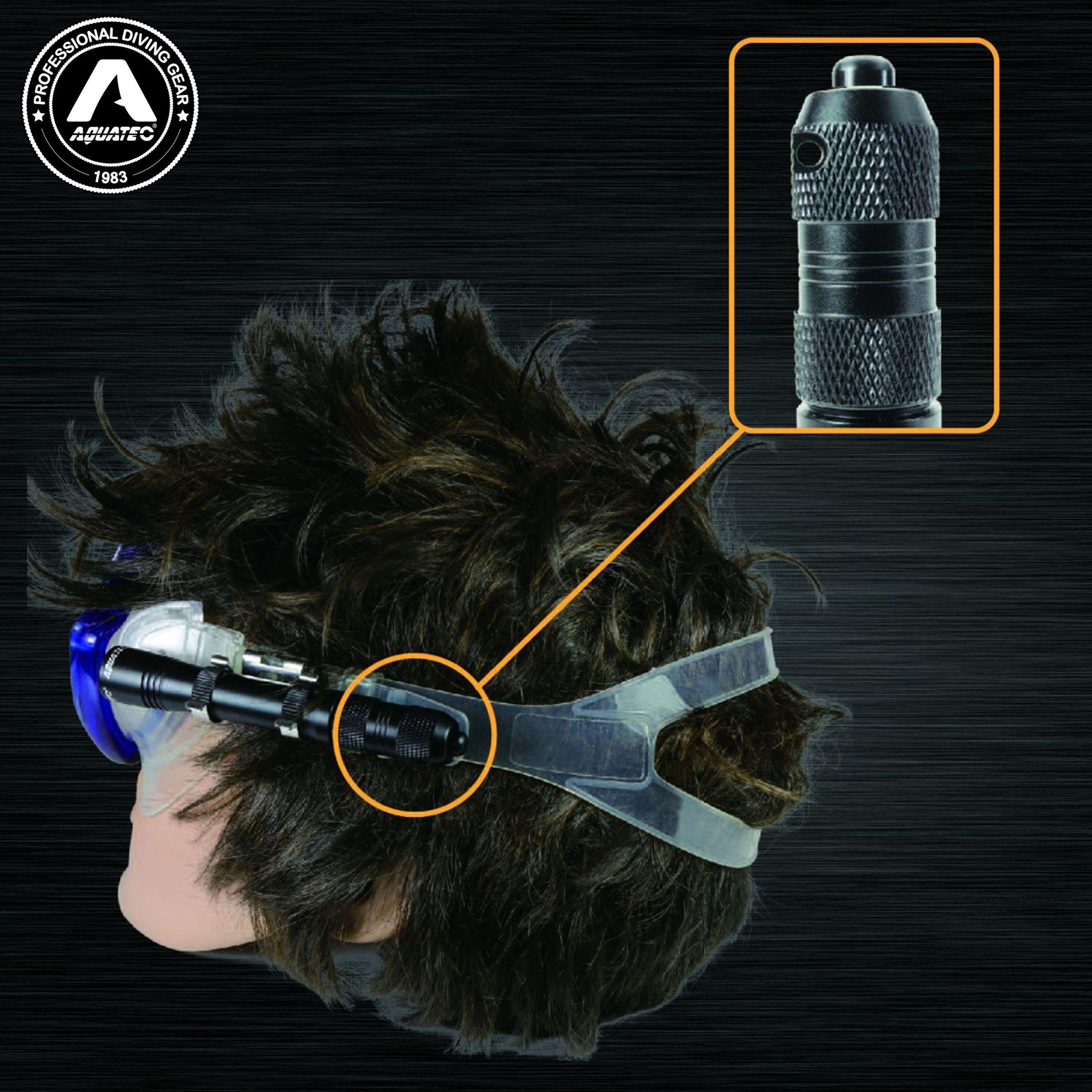 Scheinwerfer mit Knopfschalter - LED-1720 Scuba Mini Light mit Druckschalter