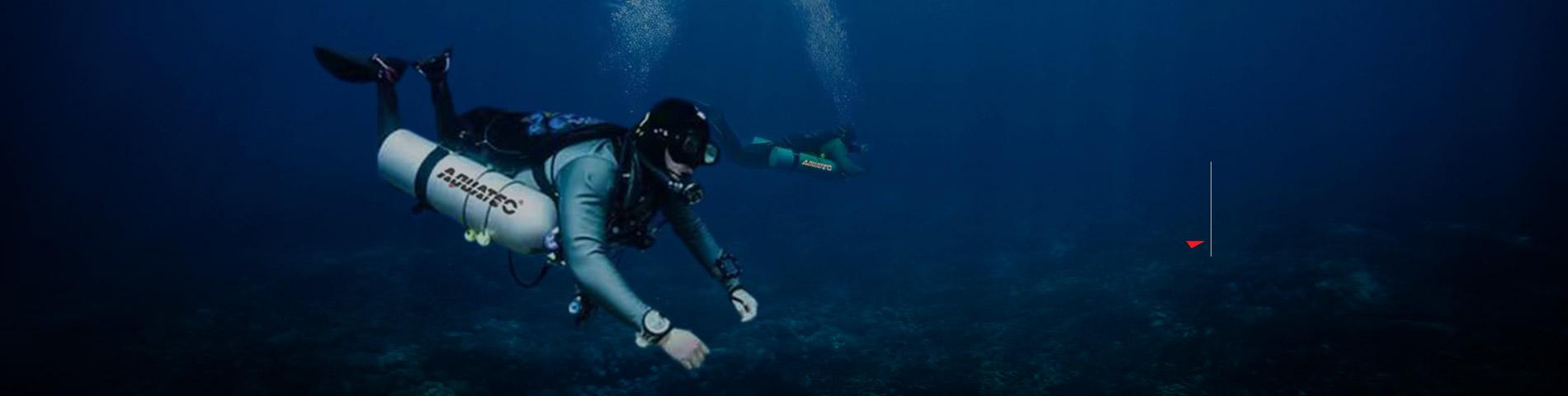 Адкрыйце для сябе AQUATEC Прафесійнае абсталяванне для падводнага плавання