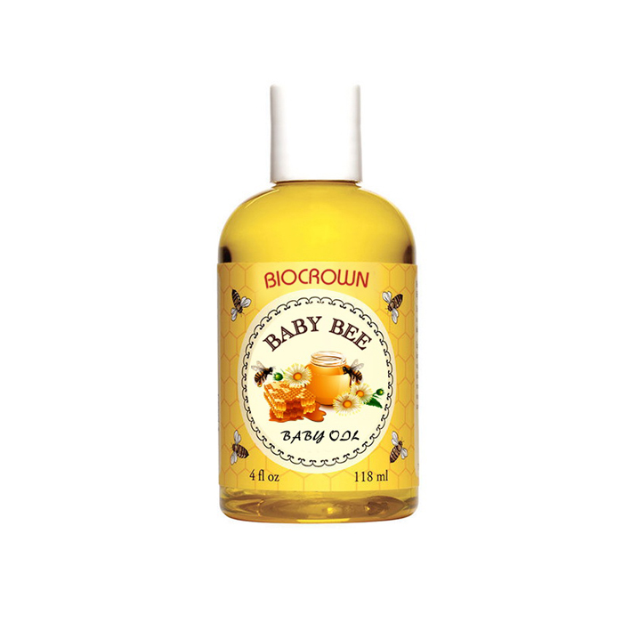 Pengilang label peribadi untuk Baby Oil