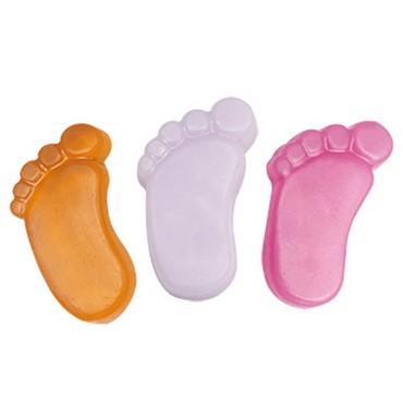 Foot Shaped PVC Model Soap Bar