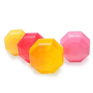 Diamond Shaped PVC Model Soap Bar