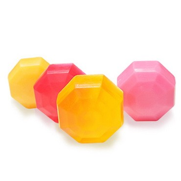 Thanh xà phòng mô hình PVC hình kim cương