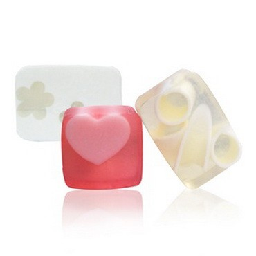 Square / Rectangular Flower Roll Soap Bar
