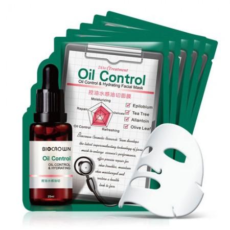 Mặt nạ kiểm soát dầu & dưỡng ẩm cho da mặt