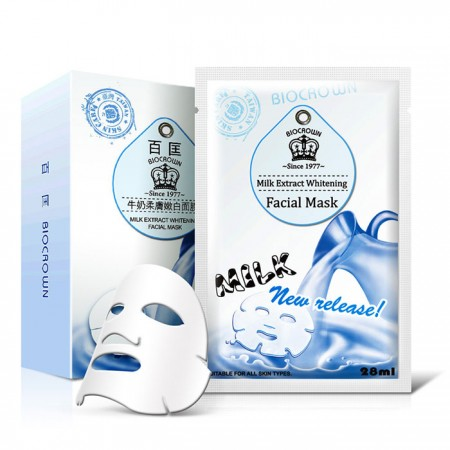 Milk Extract Whitening Facial Mask