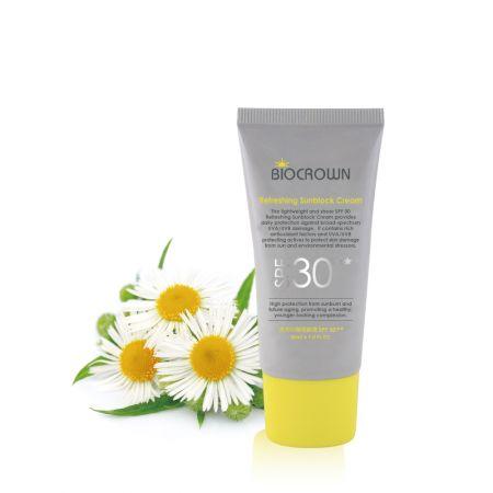 Refreshing Sunblock Cream SPF30★★ (Natural)