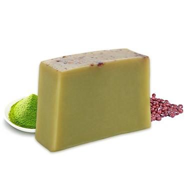Moisturizing Handmade Soap - Matcha + Adzuki Bean