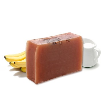 Moisturizing Handmade Soap - Banana + Milk