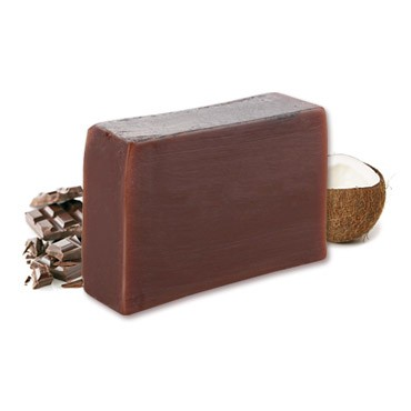 Moisturizing Handmade Soap - Chocolate + Coconut