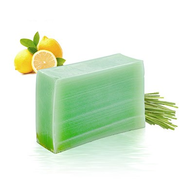 Moisturizing Handmade Soap - Lemon + Lemongrass