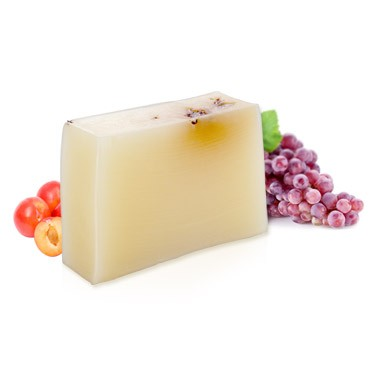 Moisturizing Handmade Soap - Grape + Sweet Plum