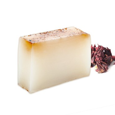 Moisturizing Handmade Soap - Apple + Roselle