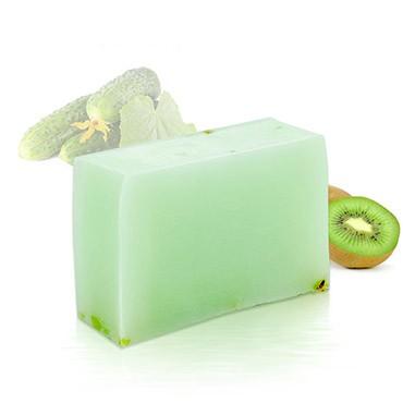 Moisturizing Handmade Soap - Kiwi + Cucumber