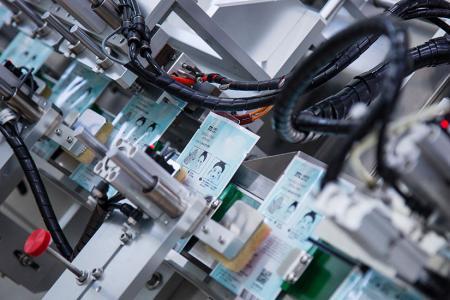 Proses prosedur pengeluaran topeng bio-selulosa - 面膜 自動 自動