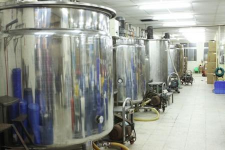 Heated Mixing Tank