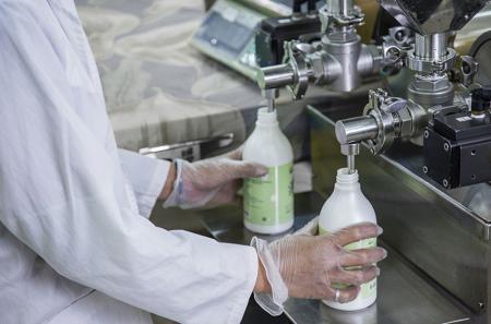 Hệ thống máy chiết rót chất lỏng tự động