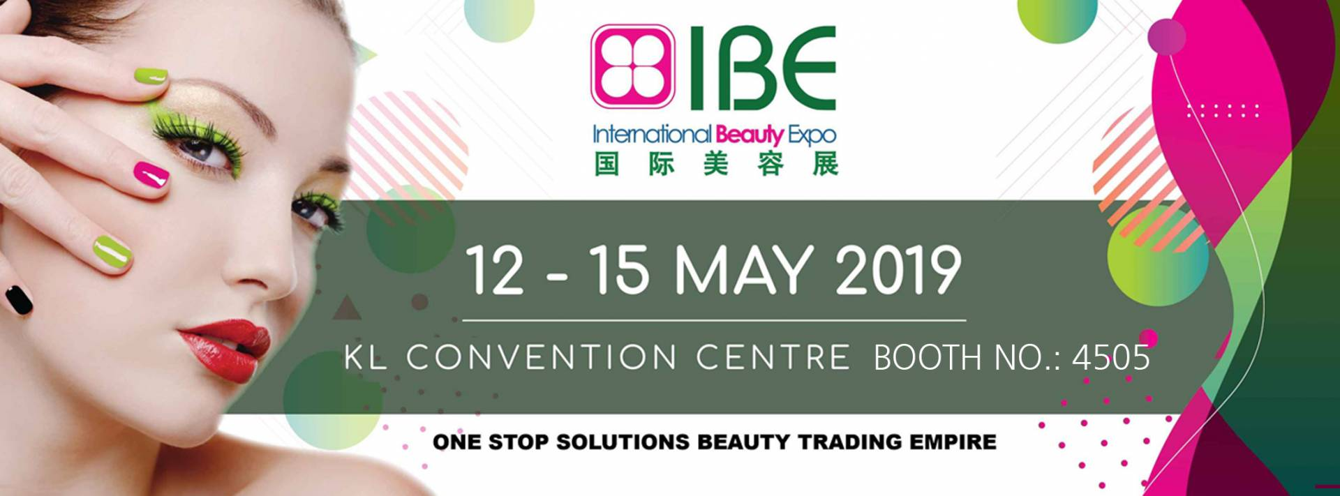 International Beauty Expo Malaysia 2019   BIOCROWN News and