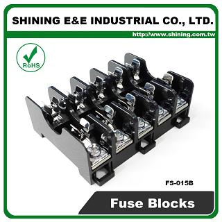 shining e\u0026e fs 015b for 6x30mm fuse din rail mounted 600v 10a 5 way Knob and Tube Wiring