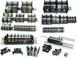 Svorkovnice namontované na lištu DIN - Svorkovnice namontované na lištu DIN