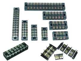 Svorkovnice montované na panel - Svorkovnice závory namontované na panel