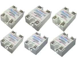 SSR-SXXAA serie enfaset halvledarrelæ, AC til AC - SSR-SXXAA serie AC til vekselstrømsfase halvfaset-relæ