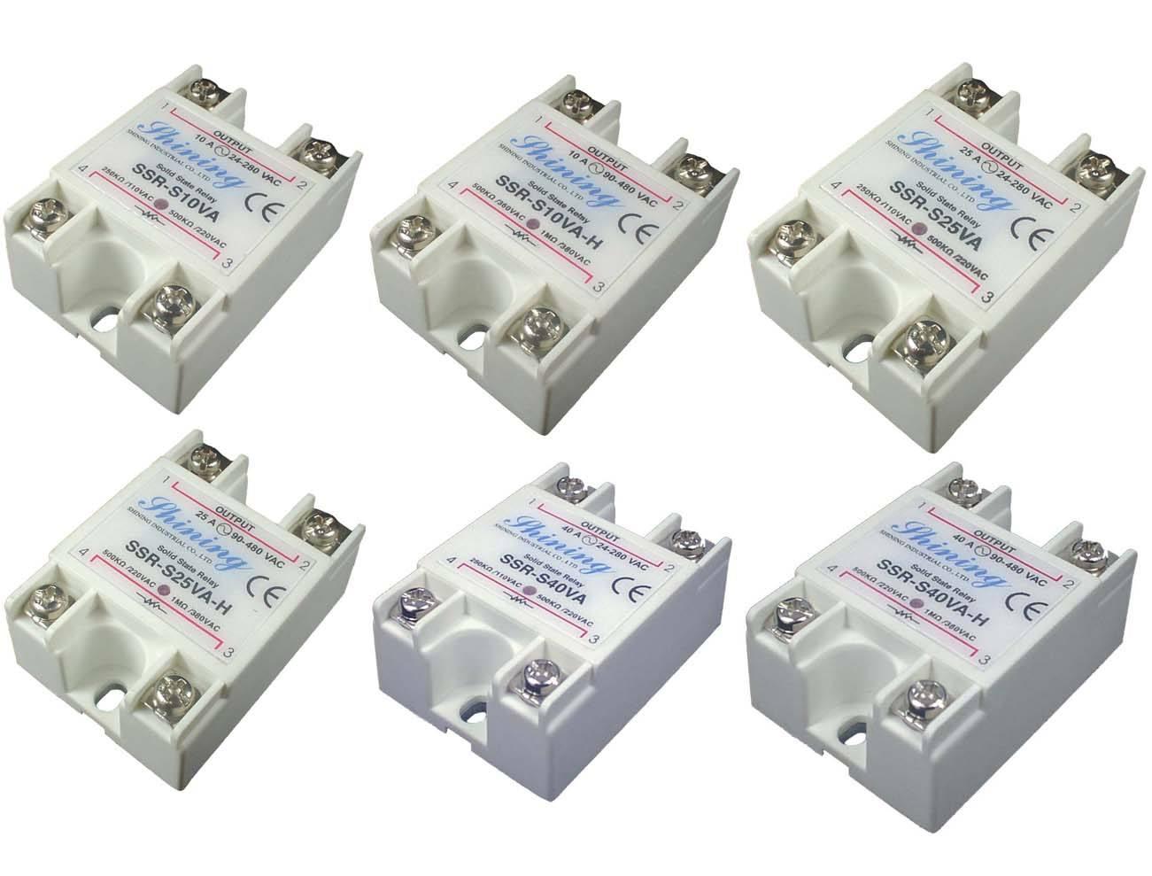 SSR-SXXVA系列VR - AC 单相固态继电器 - SSR-SXXVA系列VR - AC 单相固态继电器