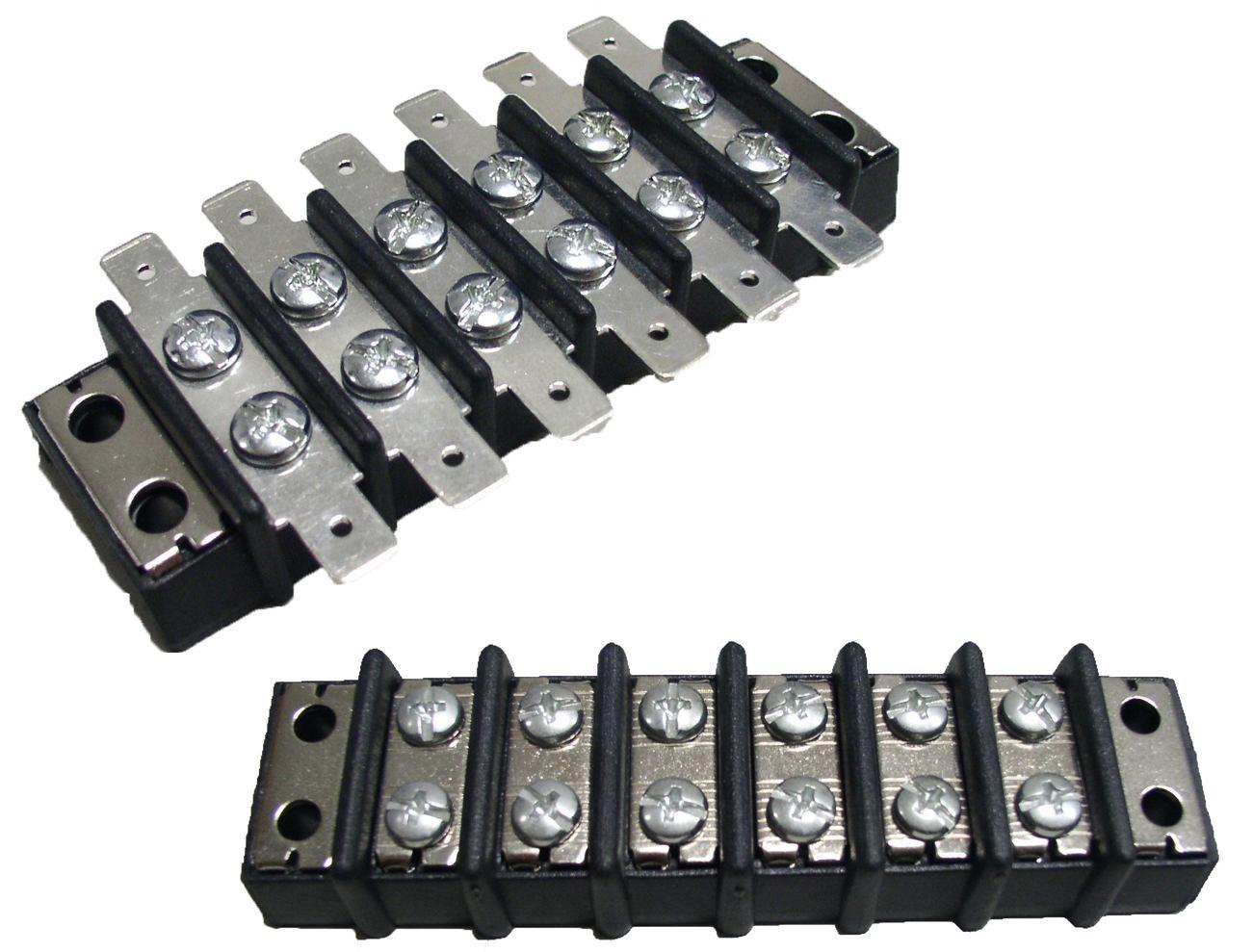 複列端子台 - 複列端子台