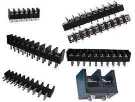 Blok Terminal Penghalang Baris Tunggal Tipe PCB - Single Row Barrier Terminal Blocks