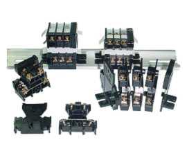 Koncové bloky s dvoma vrstvami (paluby) - Svorkovnice do dvojvrstvových (paluboviek) montovaných na lištu TD série 35 mm