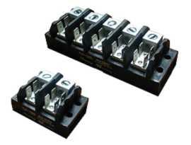 TGP-050-XXA1 Electrical Power Terminal Blocks - TGP-050-02A1 & TGP-050-05A1 Power Terminal Blocks