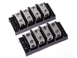 TGP-050-XXBSS Electrical Power Splicer Terminal Blocks - TGP-050-04BSS Power Splicer Blocks