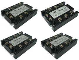 Relè a stato solido trifase serie SSR-TXXDA, da CC a CA. - Relè a stato solido trifase serie SSR-TXXDA da DC a AC