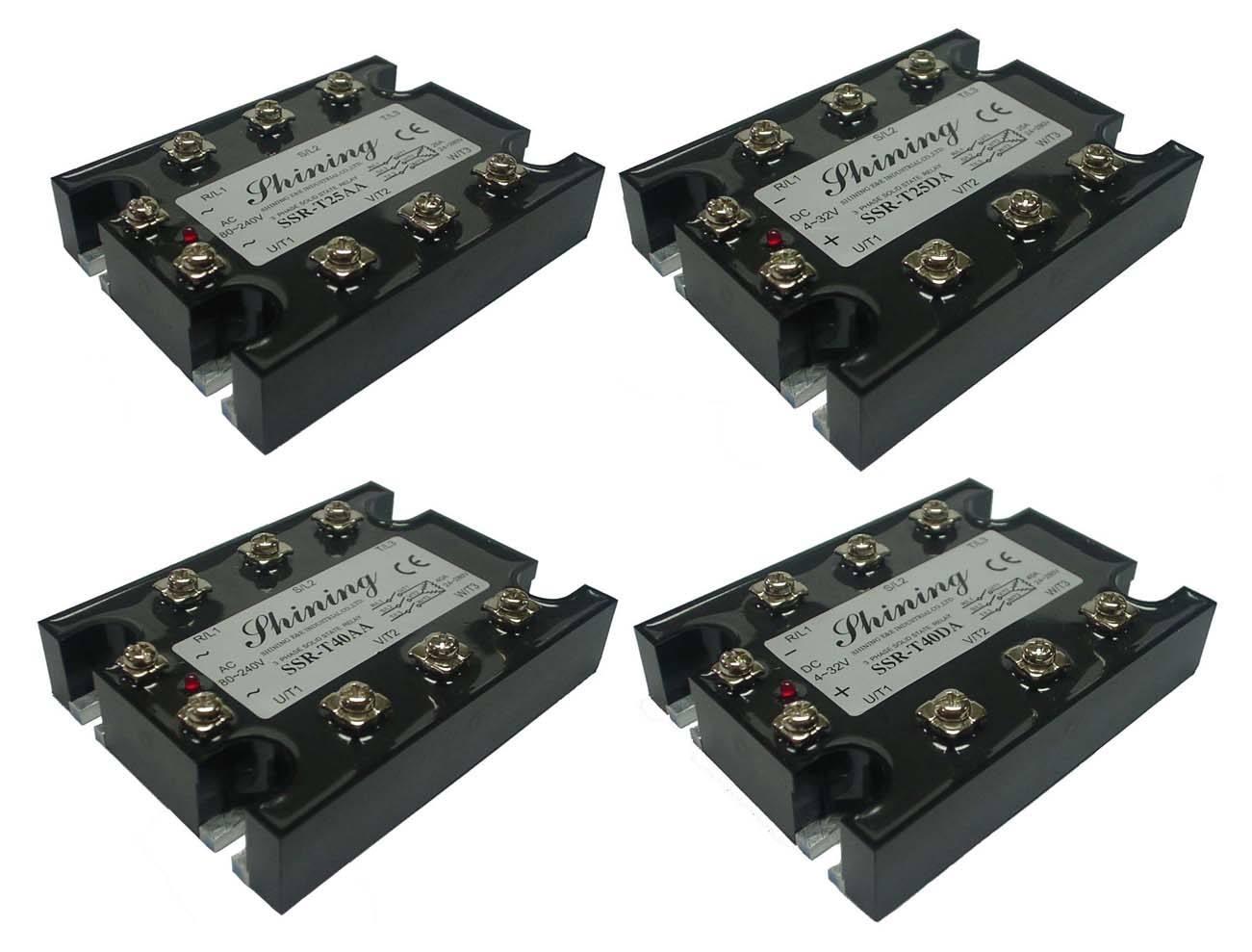 三相固态继电器 - 三相固态继电器