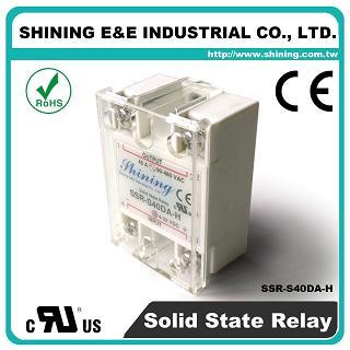 SSR-S40DA-H DC to AC 40A 480VAC Single Phase Solid State Relay - SSR-S40DA-H DC to AC 40A 480VAC SSR