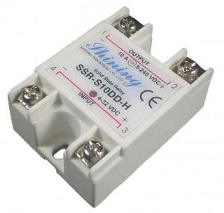单相固态继电器(SSR-S10DD-H) - Single Phase Solid State Relay (SSR-S10DD-H)