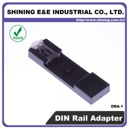 DRA-1 Adattatore per guida DIN da 35 mm per blocco fusibili - Adattatore per guida DIN per blocco fusibili (DRA-1)