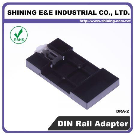 DRA-2 Adattatore per guida DIN da 35 mm per blocco fusibili - Adattatore per guida DIN per blocco fusibili (DRA-2)