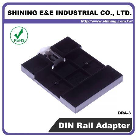 DRA-3 Adattatore per guida DIN da 35 mm per blocco fusibili - Adattatore per guida DIN per blocco fusibili (DRA-3)
