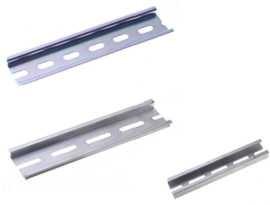 DIN montážna lišta - SHINING- 25 mm a 35 mm hliníková a oceľová montážna lišta Din
