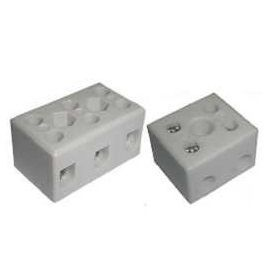 Ceramic (Porcelain) Terminal Blocks - TC Series High Temperature Ceramic (Porcelain) Terminal Blocks