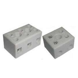 Blok Terminal Seramik (Porcelain) - Siri TC High Temperature Seramik (Porcelain) Blok Terminal