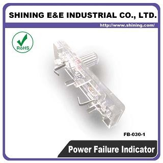FB-030-1 120V DC Power Off Failure Säkring Indikator