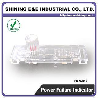 FB-030-3 Indikátor poistky zlyhania napájania 600 V AC - Indikátor poistky FB-030-3