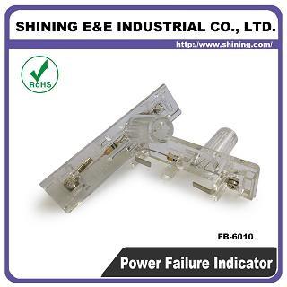 FB-6010 Indikátor poistky zlyhania napájania 600 V AC DC - Indikátor poistky FB-6011