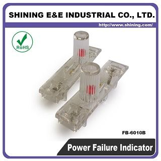 FB-6010B 120V AC DC Power Off Failure Säkring Indikator