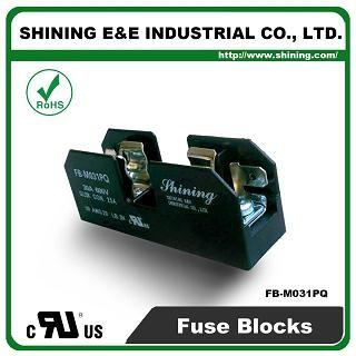 FB-M031PQ Untuk 10x38mm Fuse 600V 30 Amp 1 Position Midget Fuse Block