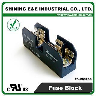 FB-M031SQ Untuk 10x38mm Fuse 600V 30 Amp 1 Position Midget Fuse Block