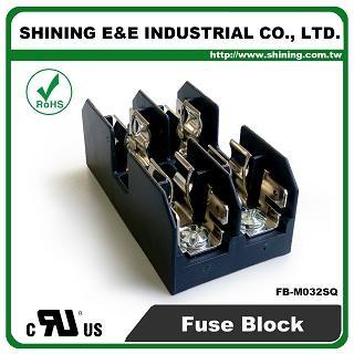 FB-M032SQ Untuk Blok Fius 10x38mm Fius 600V 30 Amp 2 Posisi