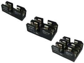 Serie FB-M03XSQ per fusibile 10x38mm Blocco fusibili midget 600V 30 Amp - FB-M031SQ e FM-M032SQ e FB-M033SQ Fusibili midget da 30 A montati su pannello