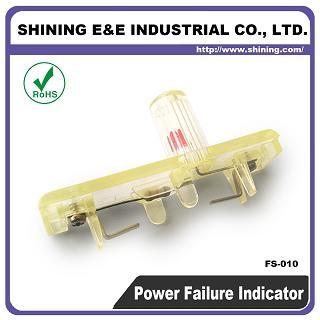 FS-010AC 380 V AC Indikátor poruchy poistky pri vypnutí - Indikátor poistky FS-010AC